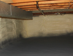 crawl space spray insulation for New York